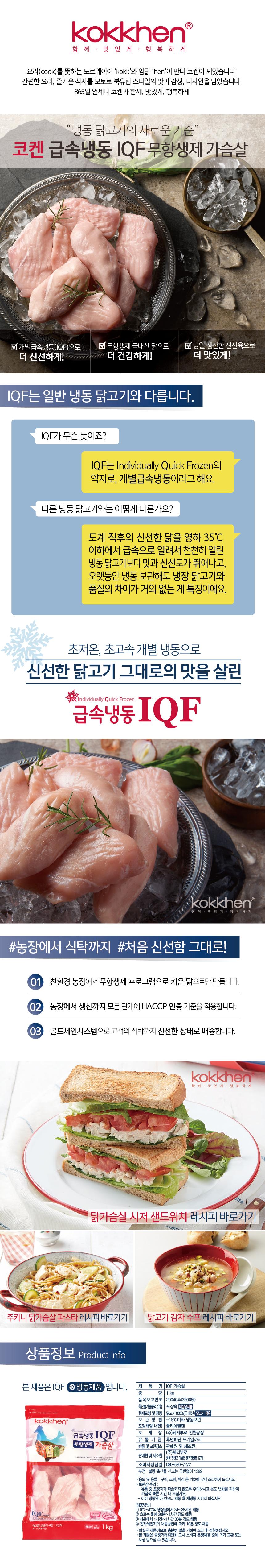 코켄_IQF_가슴살